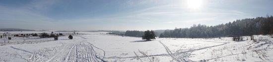 Ogrodzieniec, Poland: Trasy biegowe niedaleko hotelu