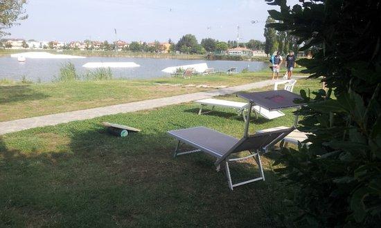 Province of Ravenna, Italien: Dobry wakepark