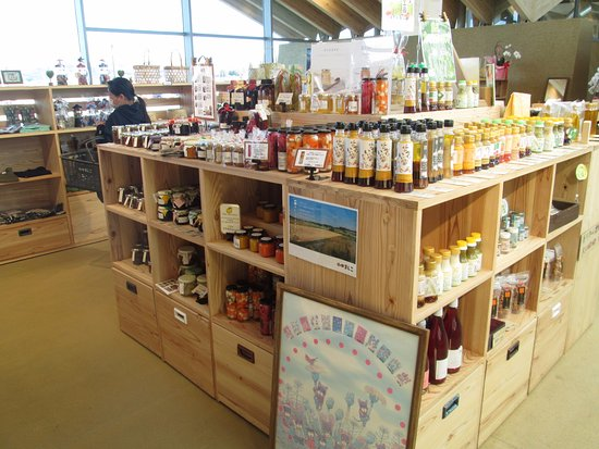Mashiko-machi, Japan: 加工品の販売