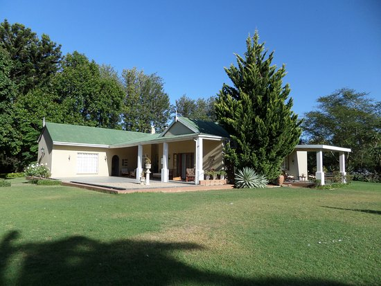 Sunland, South Africa: Hopefield house and garden