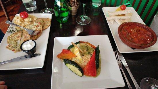Restaurante Vino Mio: varios platos
