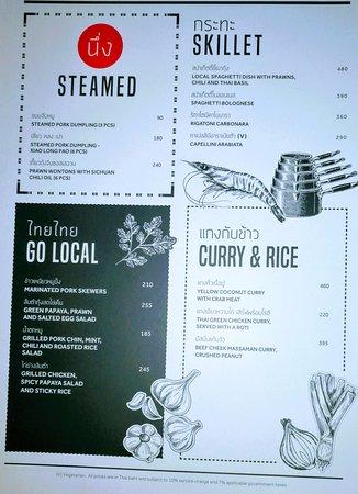 Menu - Picture of Goji Kitchen + Bar, Bangkok - TripAdvisor