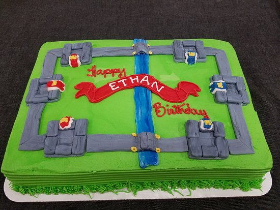 Surprising Game Themed Birthday Cake 1 4 Sheet Picture Of Over The Top Funny Birthday Cards Online Alyptdamsfinfo
