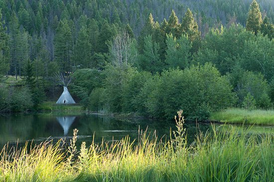 Landscape - Picture of Feathered Pipe Ranch, Helena - Tripadvisor