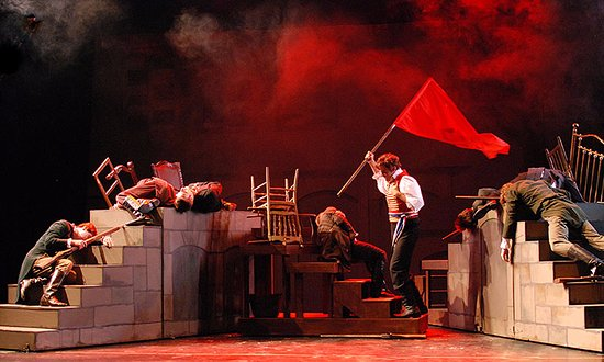 "Schroon Lake, Estado de Nueva York: 2015 Production of ""Les Miserables"""