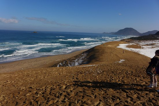 how to get to tottori sand dunes