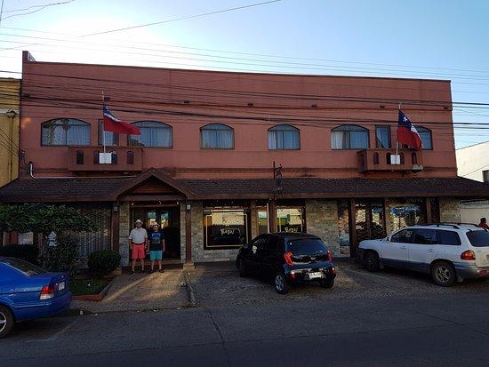 Hotel Royal Victoria: Frontis del Hotel