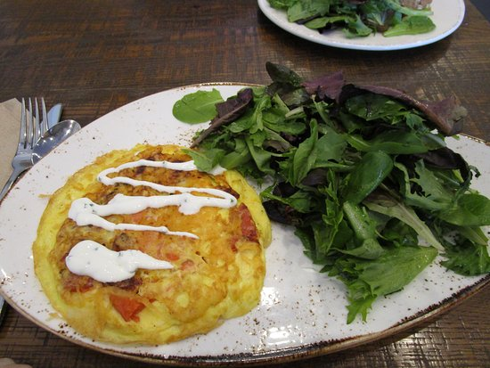Smoked Salmon And Roasted Vegetable Frittata Picture Of First Watch Tucson Tripadvisor