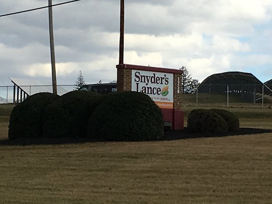 Snyder's of Hanover: sign near road