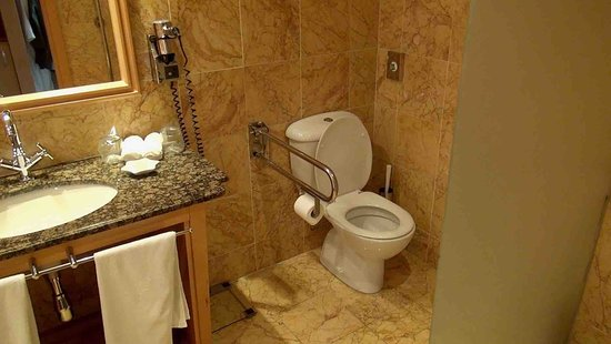 Constantinou Bros Asimina Suites Hotel: WC staat los op de vloer kamer 103