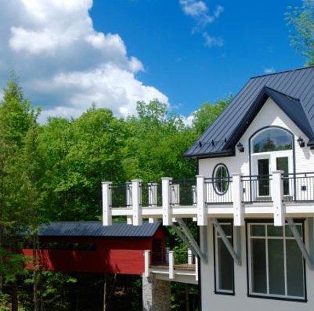 Dunham, Canadá: Le Vignoble du Ruisseau, vue du bâtiment principal