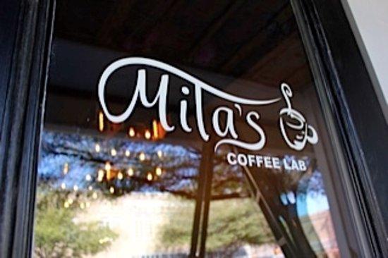 Corsicana, TX: Cafe Entrance