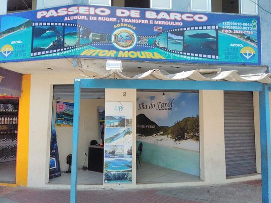 Arraial do Cabo, RJ: Agência de Turismo Vitor Moura