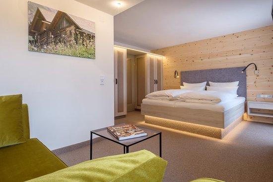 """Hotel Rosenstock: Das neue Doppelzimmer Typ """"Rubihorn"""" (vom Herbst 2016)"""