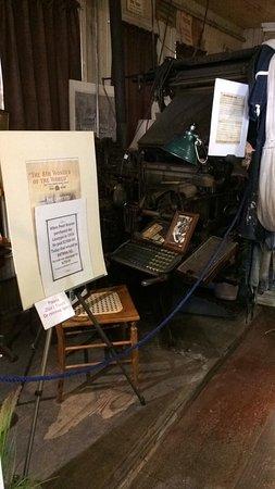 Vermilion News Print Shop Museum