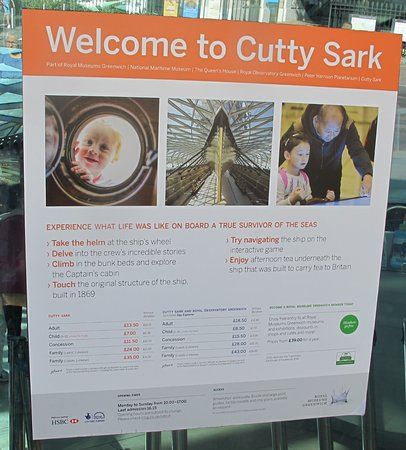 the fun introductions - Picture of Cutty Sark, London - TripAdvisor