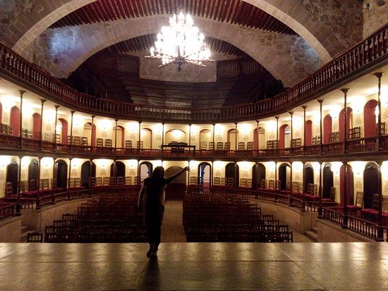 Jerez de Garcia Salinas, Meksyk: INTERIOR DEL TEATRO