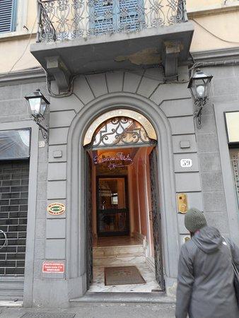 Hotel Boccaccio: Entrata dell?hotel