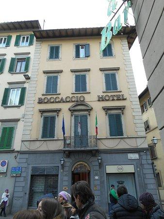 Hotel Boccaccio: Facciata dell'hotel
