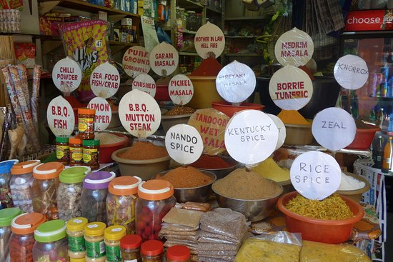 Markets of Warwick Tour: Indian spices