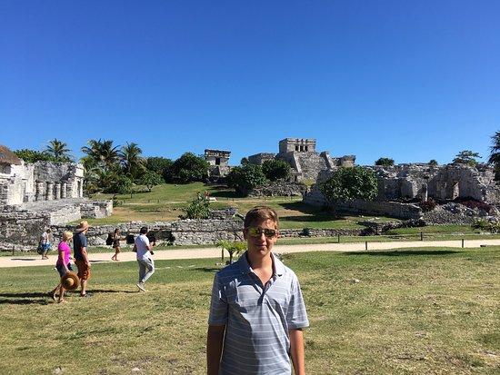 Tulum Archaeological Site Foto