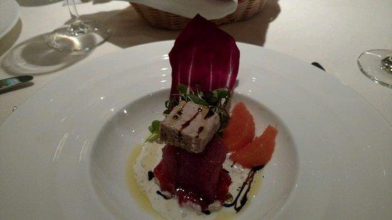 The Cellar: Hawaiian tuna with Foie gras  - Yummmmm!