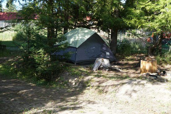Moyie Springs, ID: wonderful tent sites