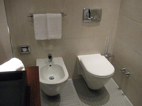 Loft 130) Sanitair badkamer beneden - Picture of Devero Hotel & SPA ...