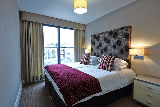 The Kingfisher Capel Street Apartments : ensuite bedroom (2 singles beds)