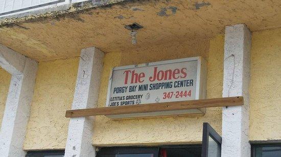 The Jones Shopping Center in Bimini