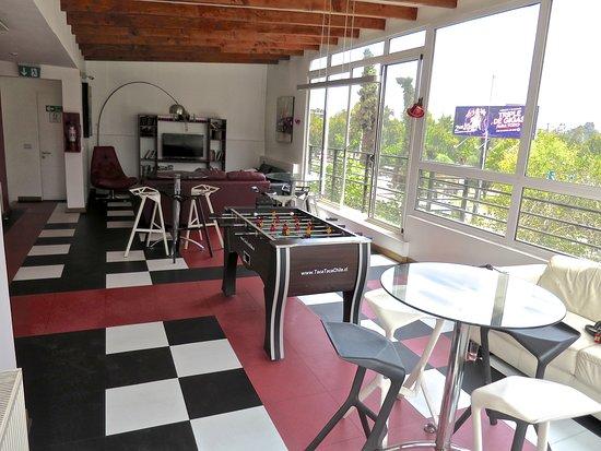 H Rado Hostel: Common area