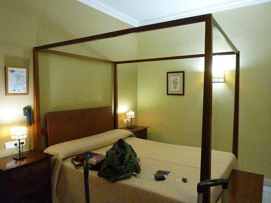 Hotel La Casa del Duque: basic but clean updated room