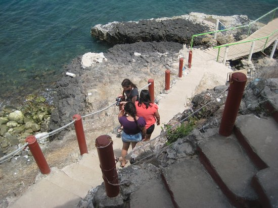 Isla de Coral: View from the steps