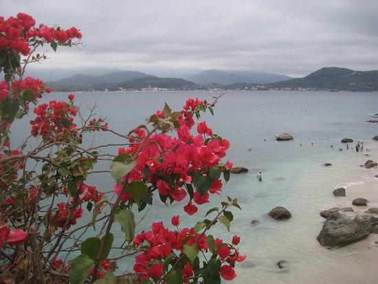 Isla de Coral: Spectacular view from above by the old restaurant