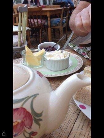 Scorton, UK: Lovely cuppa tea.