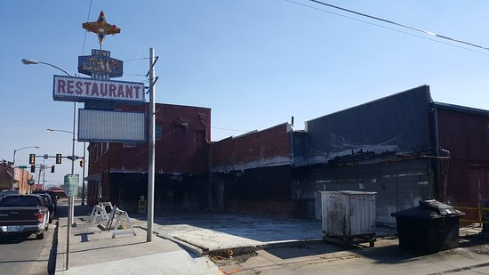 Eufaula, OK: I last reviewed this place as Went down hill.  Well guess what.  It's gone.