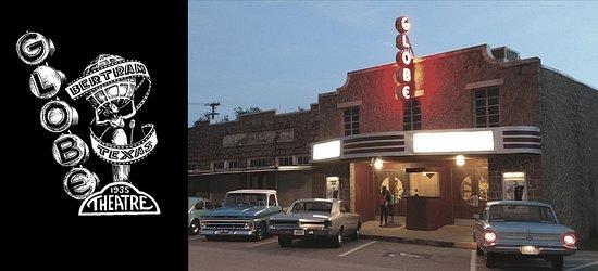 Bertram, تكساس: Historic Globe Theatre - Movies | Music | Events