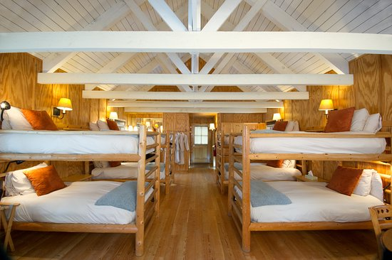 The Rookery Features Four Bunk Beds Two Showers A Mini Fridge And