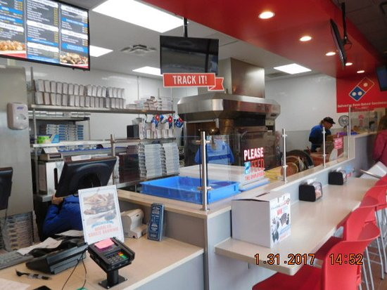 Marshalltown, IA: Inside Work area and some seating few tables not in photo.