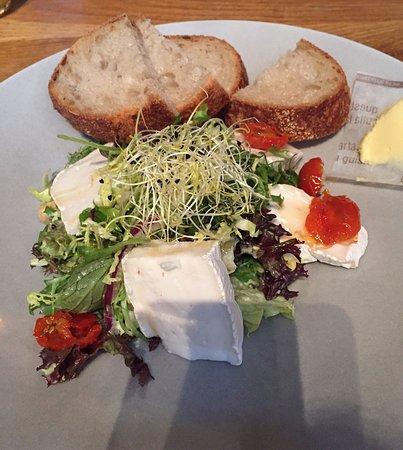 Bunnik, Nederland: Geitenkaas salade (lunch)