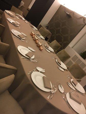 Govone, Italien: Cena con amici
