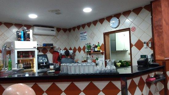 Oasis: Bar area