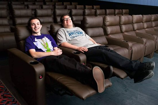 Century Square Luxury Cinemas: All auditoriums are equipped with fully-reclining luxury seats.