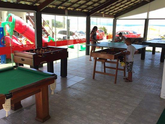 Pousada Laguna: Salao de jogos
