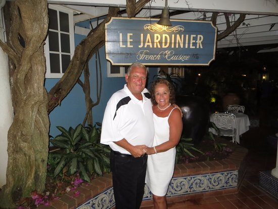 Sandals Inn: Want a meal to die for? Le Jardinier at Sandals® Royal Caribbean