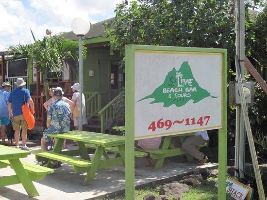 Lime Beach Bar in Nevis