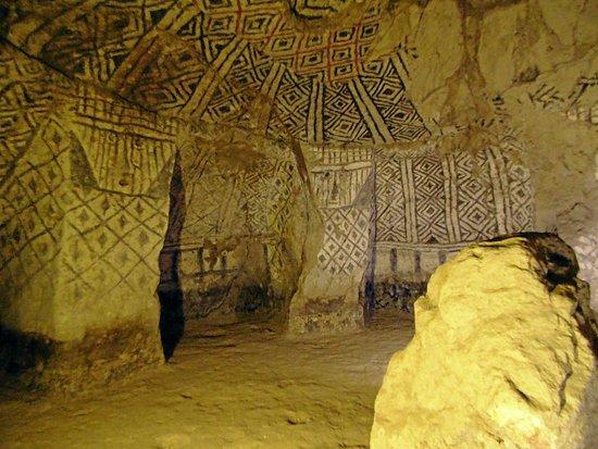 Archaeological Park of Tierradentro: Gravkammare en traditionella mönster