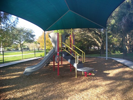 Cooper City, FL: Park, kids play ground, small walking trails