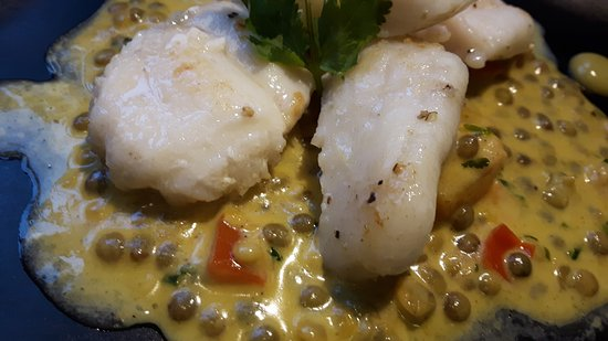 Munslow, UK: Monkfish Cheeks