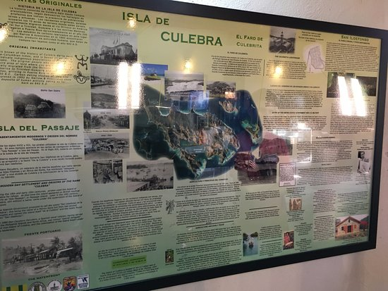 Museum of History: Information about the island